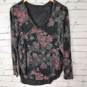 Wilfred Cappucinno Floral Top